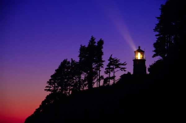 A late July sunset at Heceta Lighthouse